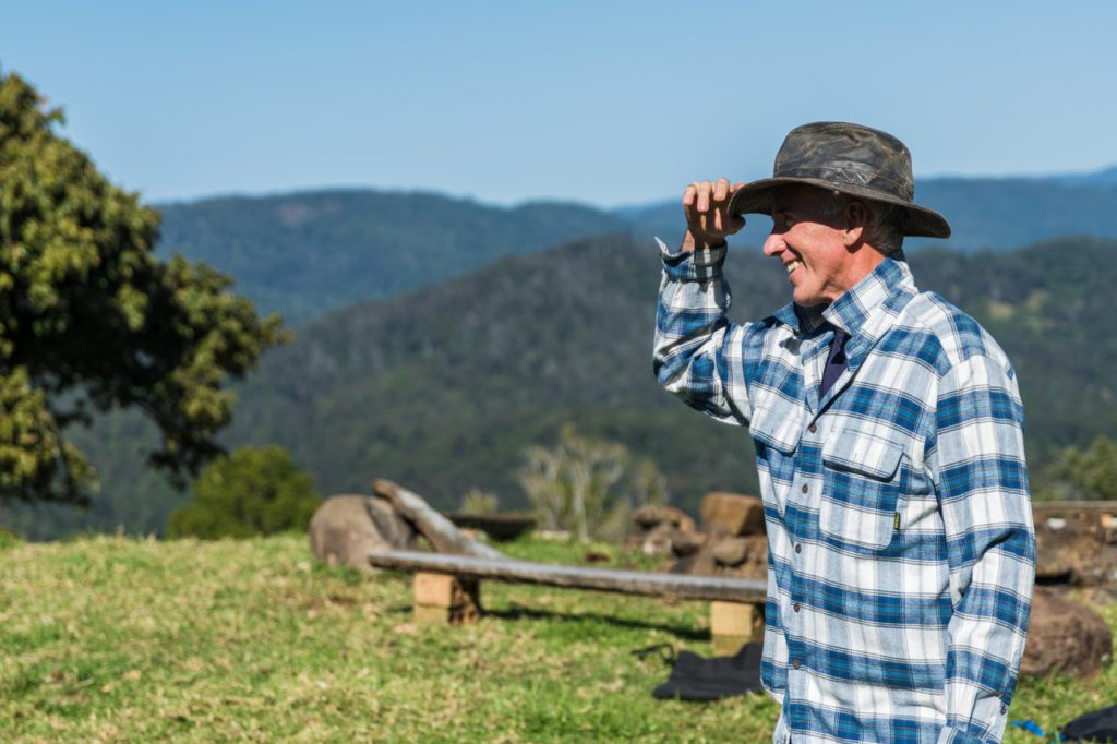 farmer on the mountain