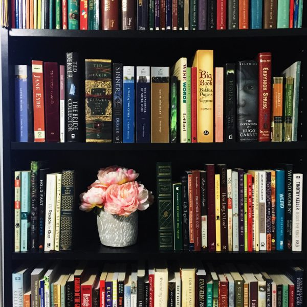 book-flower-library