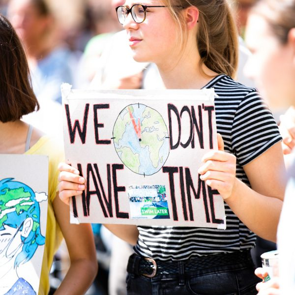 we dont't have time claim green climate change